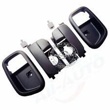 Rear Left Right Inside Door Handles W Handle Bowls For Hyundai Accent 2005-2011