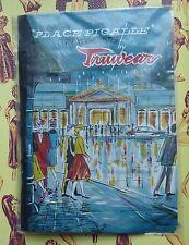 Vintage truwear bas ~ place pigalle ~ taille 9