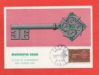FDC 1968 - Europa - La Paz Y La Prosperidad Por Europa Liso (K150)