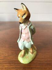 Vintage Beswick Porcelain Beatrix Potter Foxy Whiskered Gentleman BP3b Figurine