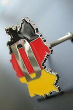 Grille Badge Metal Emblems Car Front Grille Logo German Flag