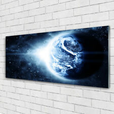 Acrylglasbilder Wandbilder aus Plexiglas® 125x50 Erdball Weltall