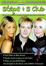 STEPS / S CLUB SUNFLY KARAOKE MULTIPLEX DVD 12 HIT SONGS