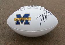 Michigan #14 DEVIN GARDNER Signed Autographed Football COA PROOF! GO BLUE!!