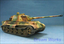 Award Winner Built Dragon 1/35 King Tiger +PE +Metal Gun