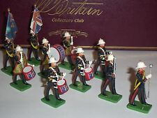 BRITAINS COLLECTORS CLUB ROYAL MARINE LIMITED EDITION METAL TOY SOLDIER BAND SET