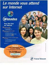 PUBLICITE ADVERTISING  1999   FRANCE TELECOM  WANADOO