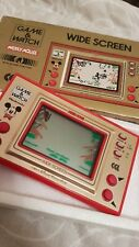 Nintendo Game Watch MICKEY MOUSE WIDE SCREEN MC-25 1981 Retro Rare Made in Japan