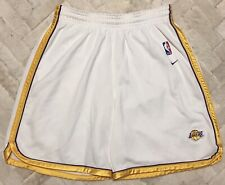 VINTAGE Authentic NIKE Los Angeles Lakers Team Issue Sunday Jersey Shorts Sz L