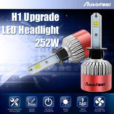 H1 250W 25000LM PHILIPS LED Headlight Kit Low Beam Bulbs 7000K White High Power