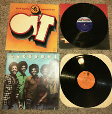 """(2) LP LOT The Jacksons """"Get It Together"""" and """"S/T"""" Mowtown/Epic *VG*"""