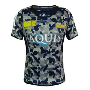 ACT Brumbies ANZAC Limited Edition Jersey  - Sizes M - 4XL **SALE PRICE**