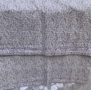 Pair Lauren Ralph Lauren Lavender Tiny Floral Pillow Cases Standard