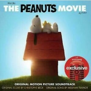 The Peanuts Movie cd Soundtrack 2015 VERY GOOD CONDITION