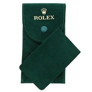 Rolex Travel Watch Pouch Case With Insert Brand New