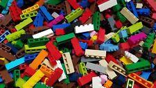 LEGO Bulk Lot of 100 Assorted Mixed Color 1x4 Building Brick Pieces