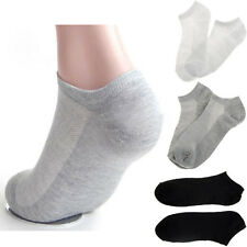 5 Pairs Summer Mens Ankle Socks Low Cut Crew Soft Casual Sport Cotton Blend Sock