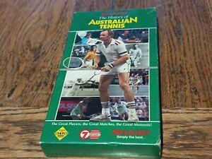 Sharp The History Of Australian Tennis VHS 7 Sport Video Tape 1in VGC