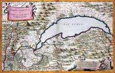 Reproduction carte ancienne - Duché de Chablais et Lac Léman 1682