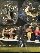 Dept 56 Heritage Village Collection 5929-3 Nicholas Nickelby Set of 4/ New