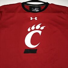 Cincinnati Bearcats Under Armour Youth Extra Large YXL Red Black Graphic T Shirt