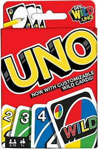 UNO Wild card Family Game Brand New & Instructions Fast First Class Delivery