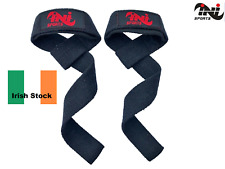 INI Sports Weight Lifting Straps Training Gym Gloves Hand Bar Wrist Support