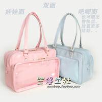 Japanese Lolita JK Uniform Shoulder Bag Itabag  Transparent Handbag 4Colors