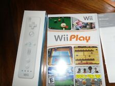 Wii Play (Nintendo Wii ) Game Bundle with Wii Remote  Please ReadDescription NEW