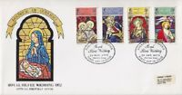 Guernsey FDC 71 - 74 mit SST Royal Silver Wedding 1972, first day cover