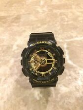 CASIO G-SHOCK Black and Gold Limited Edition Watch