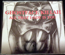 GHOSTFACE KILLAH ALL THAT I GOT IS YOU CD SINGLE