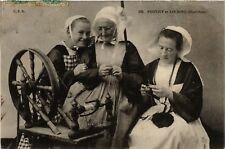 CPA  Pontivy et Locminé - Morbihan - Folklore - Types  (482320)
