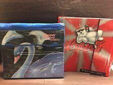 2 Vintage Binders- 1989 Mead Swan Trapper Keeper Misprint + Coca Cola w/Folders