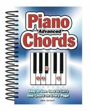 Advanced Piano Chords: Easy to Use, Easy to Carry, One Chord on Every Page (Spir