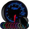 "2 1/16"" GlowShift Black Elite 10 Tachometer Gauge w Adjustable RPM Warnings"