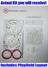 1986 Gottlieb/Premier Genesis Pinball Machine Rubber Ring Kit