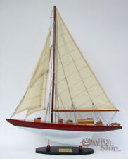 """32"""" William Fife Sailboat Model Master of the Classic Yacht"""