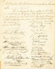Boston, 1827 - a petition to Henry A. Dearborn to appoint an officer