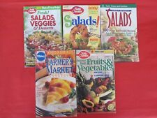 Lot of 5 Salad Vegetable Recipe Booklets