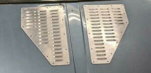 Ares Fabrication Aluminum Universal  MINI Hood Louvers