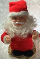 Telco Motion-ette Animated Musical Santa Claus, 1990, RARE, Short, Works Great