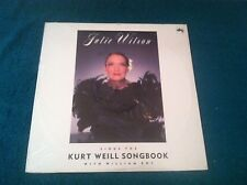 Julie Wilson Sings The Kurt Weill Songbook with William Roy SEALED NEW LP DRG