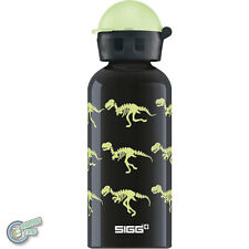 SIGG 8543.10 62730 400ml Aluminum Water Drink Bottle Glow Walking Dinos