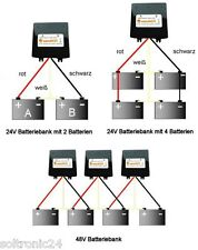 Batterie Ladungsausgleicher 24V  48V, Kapazitäts Ausgleich für Batterie Bänke
