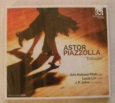 ANN HOBSON PILOT LUCIA LIN JP JOFRE (CD) ASTOR PIAZZOLLA ESCUALO -  NEUF SCELLE