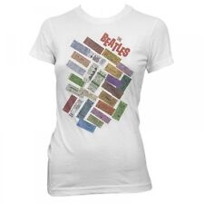 THE BEATLES TICKETS STACKED T-SHIRT/Large Junior Fitted/NEW