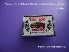 Vintage Hot Rod Racing Aghadowey Stadium Enamel Badge. c 1970s. AH9586.