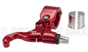 Diatech (Dia-Compe) Tech 99 Goldfinger BMX right hand bicycle brake lever RED