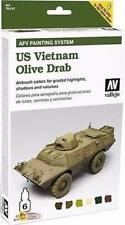 Vallejo US Vietnam Olive Drab Armour Set VAL 78412